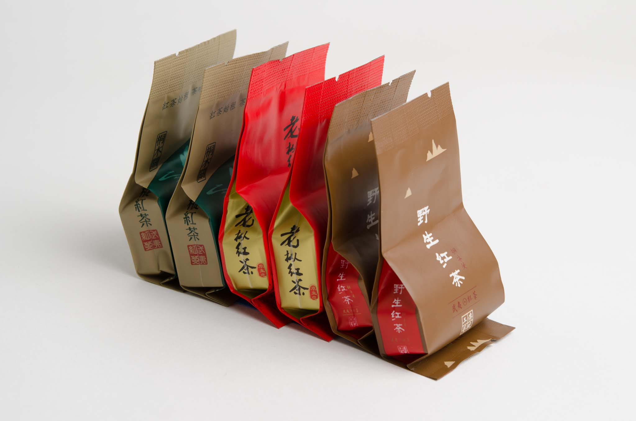 Wuyi black tea sample set old ways tea company for Classic house sample pack