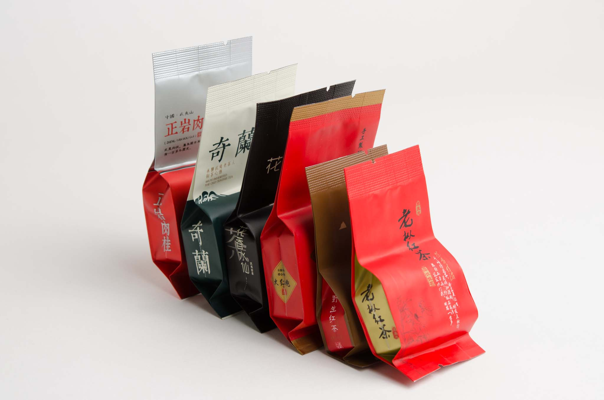 Wuyi oolong and black tea sample set old ways tea company for Classic house sample pack